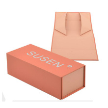 Custom logo printing hair/perfume/belt folding box packaging