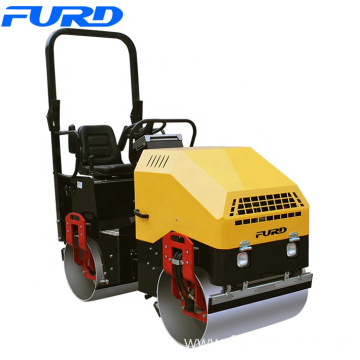 Manufacture 1.7 Ton Diesel Steel Drum Vibratory Roller Compactor for Backfill Compaction