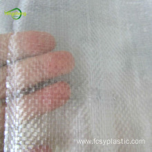 UV resistant woven clear film