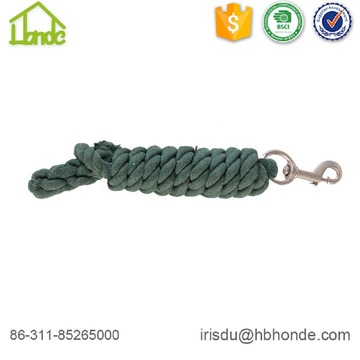 Green Durable Cotton Horse Lead Rope