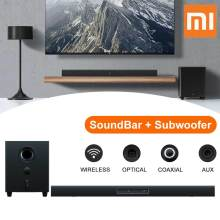 Xiaomi TV bluetooth Speaker SoundBar Subwoofer Home Theater Cinema Wireless Acoustic System Touch Control Electronics Audio