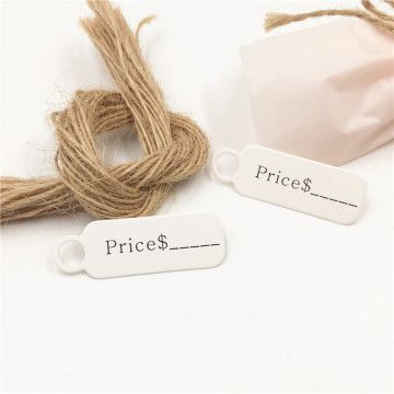jewlery hang tags biodegradable hang tags
