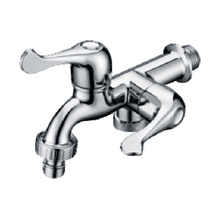 Stainless Steel Body Brass Core Two Control Faucet