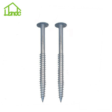 Security Ground Screw Anchor for Solar Panel