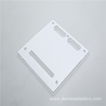 High precision clear polycarbonate sheet CNC drilling