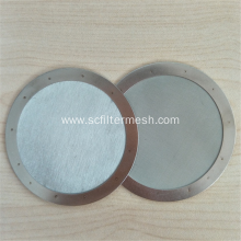 Round Stainless Steel Filter Screen Mesh