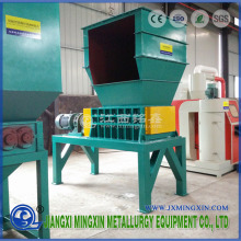 Waste Car Tyre Recycling Shredder Machine