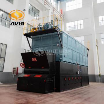 Industrial Water Tube Biomass Pellet Wood Chip Boiler