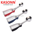 Stainless Steel Cookie Scoop Set with Soft Grips