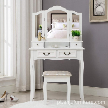 Designer Wooden Dressing table with mirror
