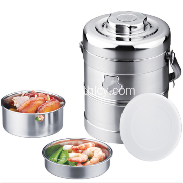 Stainless Steel Double Layer Vaccum Thermal Food Container