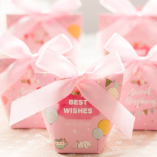 Baby shower paper candy box
