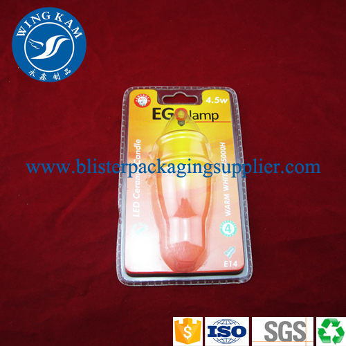 Plastic Clamshell With Insert Packaging