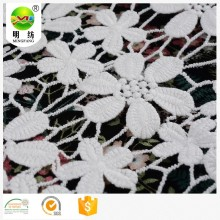 Popular embroidered lace dress fabric for wedding