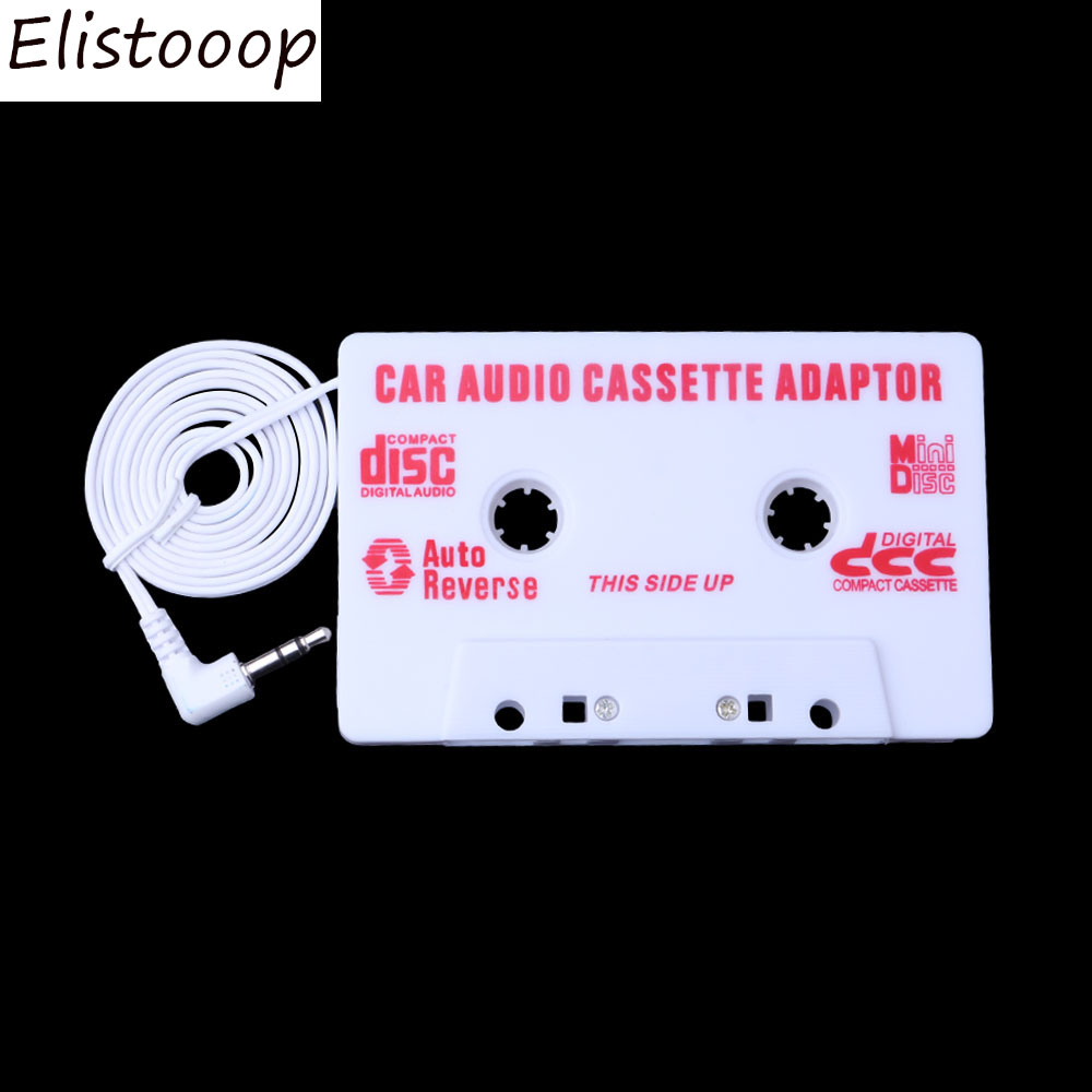 3.5mm AUX Car Cassette Tape Adapter Cassette Mp3 Player Converter Jack Plug For iPod For iPhone MP3 AUX Cable CD Player
