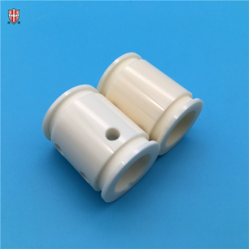 custom made polished surface alumina ceramic tube bush