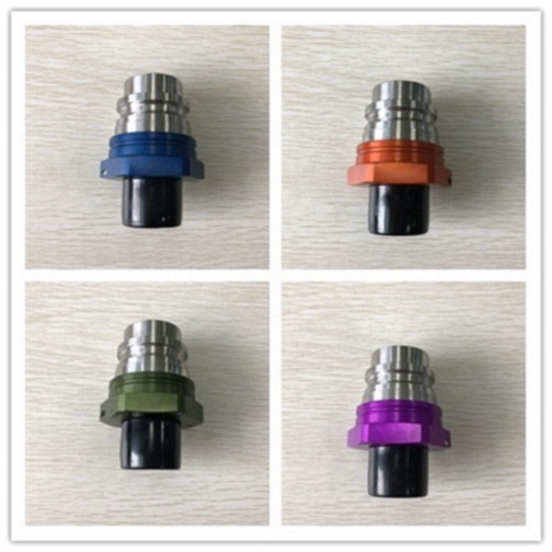 ISO16028 Quick Coupling FF5A Male Purple