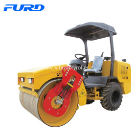 3 Ton Hydraulic Vibratory Rubber Tyre Road Roller