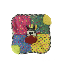 Zebra towel Sound Paper Baby Toy