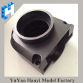 Aluminum cnc machined parts with black color anodizing