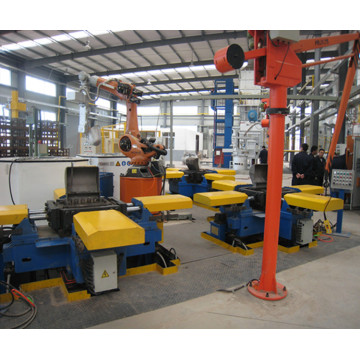 Multifunctional gravity casting machine