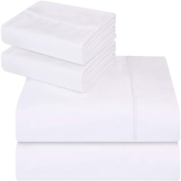 4 Pcs Bamboo Bed Sheet Sets