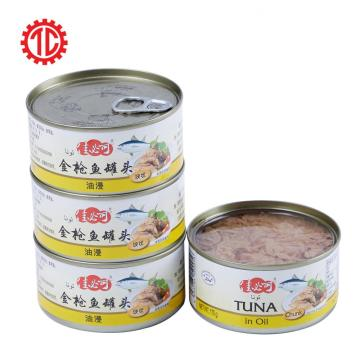 Tuna Bonito Chunk In Oil Canned Fish
