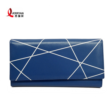 Women's Thin Leather Wallet Business Card Case