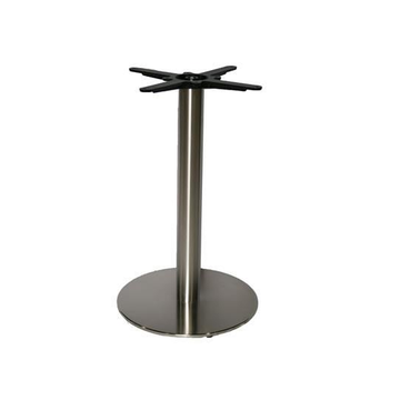 Stainless Steel  Round Palte Table Base