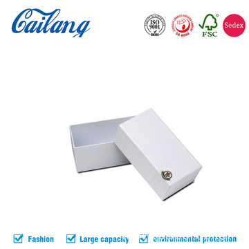 White Matt 2PCS Paper Box for Phone Packaging