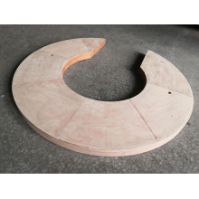 Densified Transformer Laminated Wood Pressure Rings