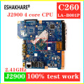 ZAA00 LA-B001P fit For Lenovo C260 AIO Motherboard / system mainboard with J2900 CPU free shipping