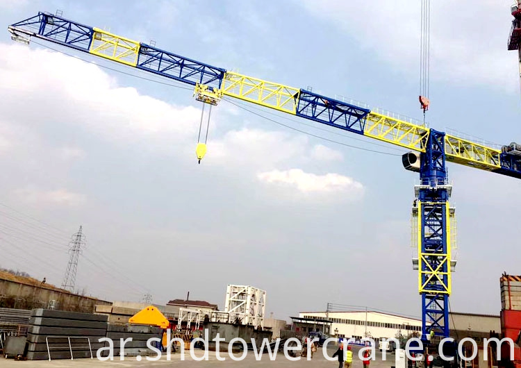 Topless Tower Crane for Wharf