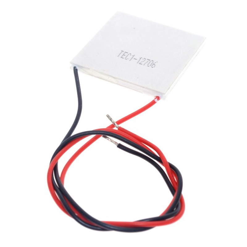 40x40mm Semiconductor Thermoelectric Heatsink Cooler Peltier Plate Module For Power Generation Refrigerator Cooling Part