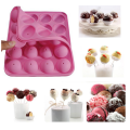 20 Holes Silicone Cake Ice Pop Corn Maker
