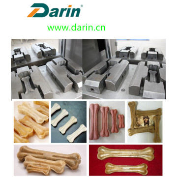 Pet Snack Made By Rawhide Processing Machine