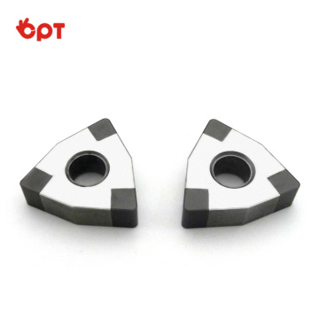 CBN tool indexable PCBN milling inserts factory supply