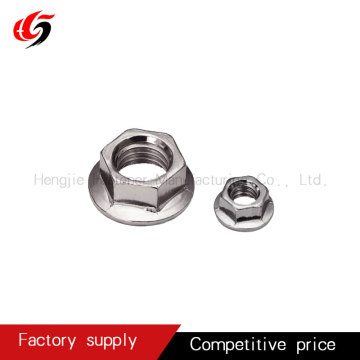 Hot sale color plated flange nut