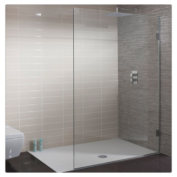 Clear & Tinted Toughened Glass For Shower Partition