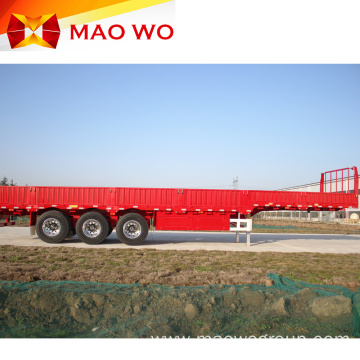 Widely Used 45 Ton Tri-axles Side Wall Trailer