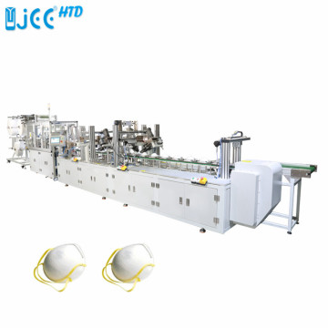 Automatic Cup Face Respirator Mask Making Machine