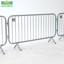 New design used hot-dipped galvanized crowd control barrier