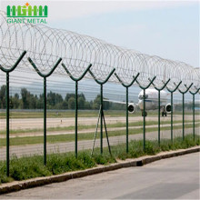 PVC Coated Welded Wire Mesh For Airport Fence