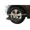 Heavy duty steel construction wheel step