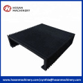 rail protection cover accordion cover flexible machine tools
