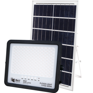400W intelligent solar flood light