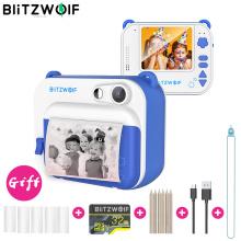 BlitzWolf BW-DP1 Photo Printer Children's Camera Video 58mm Thermal Instant Print Kids Camera Birthday Christmas Gifts for Boys
