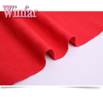 Polyester Spandex Custom 2x2 Knit Rib Fabric