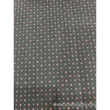 Dark Color T/C Stretch Plain Printed Fabric