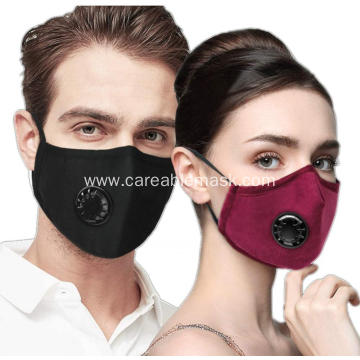 2 Pack Cotton Masks with 4 Air Filter